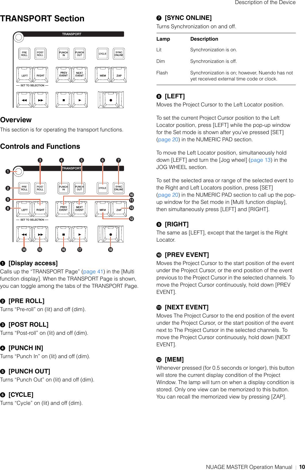 Yamaha Nuage Master Operation Manual