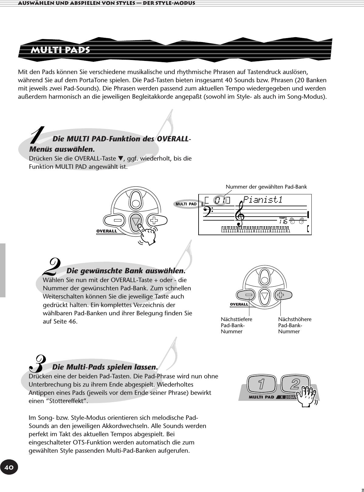 Yamaha PSR 140 Owner's Manual (Image) PSR140G
