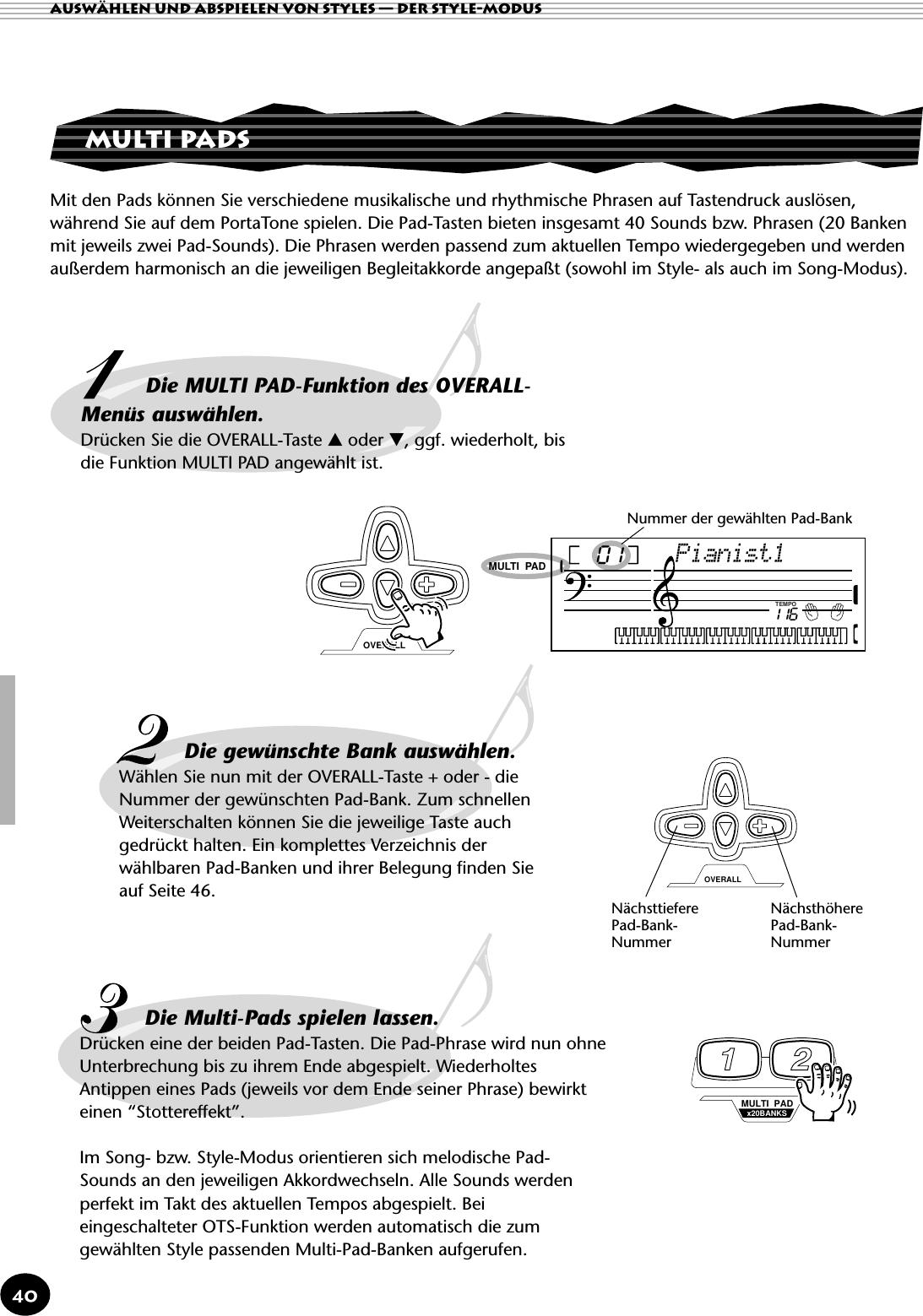 Yamaha Ga PSR 195/PSR 79 Owner's Manual PSR195G