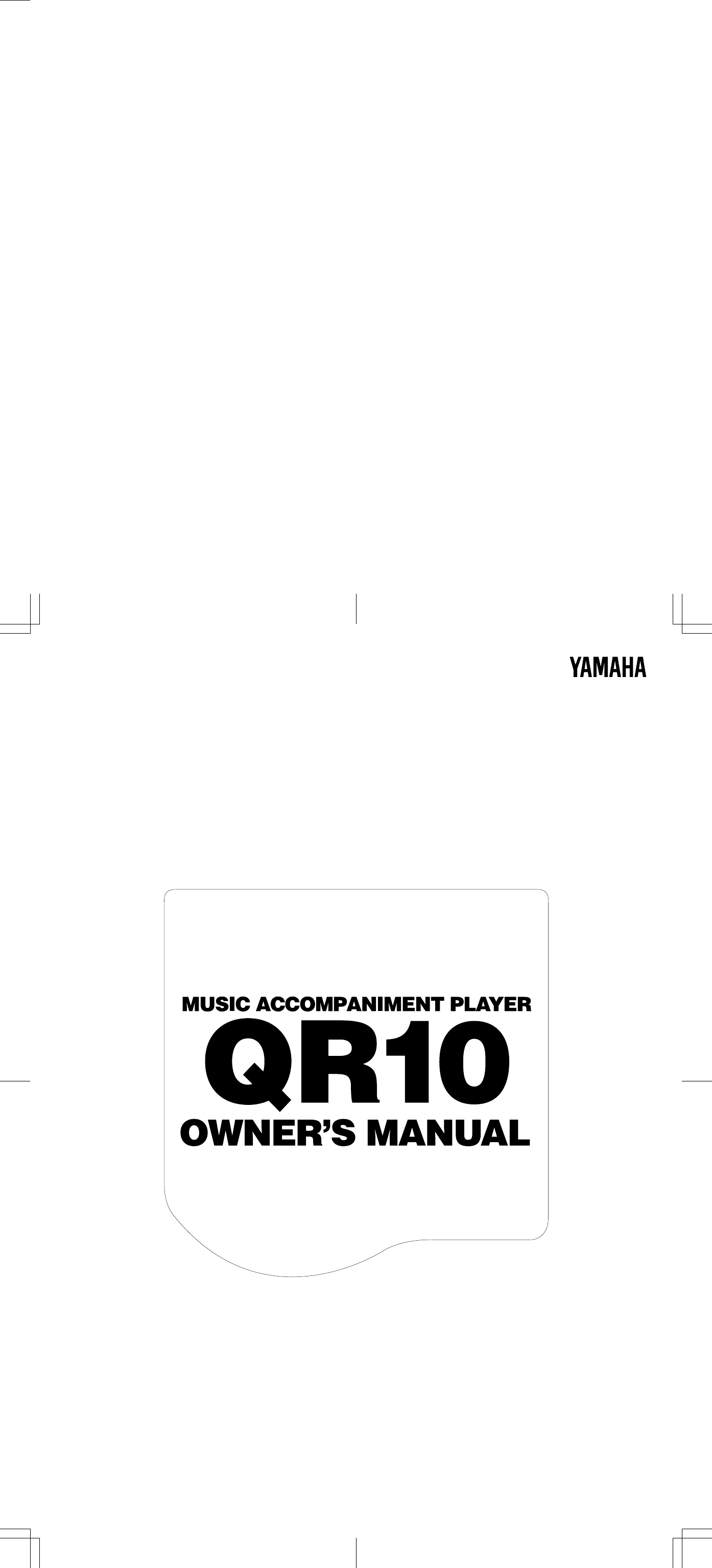 Yamaha Qr10 Owners Manual Bcontents 9v Voltage Regulator Circuit Besides Accordion Bass Diagram Of Piano