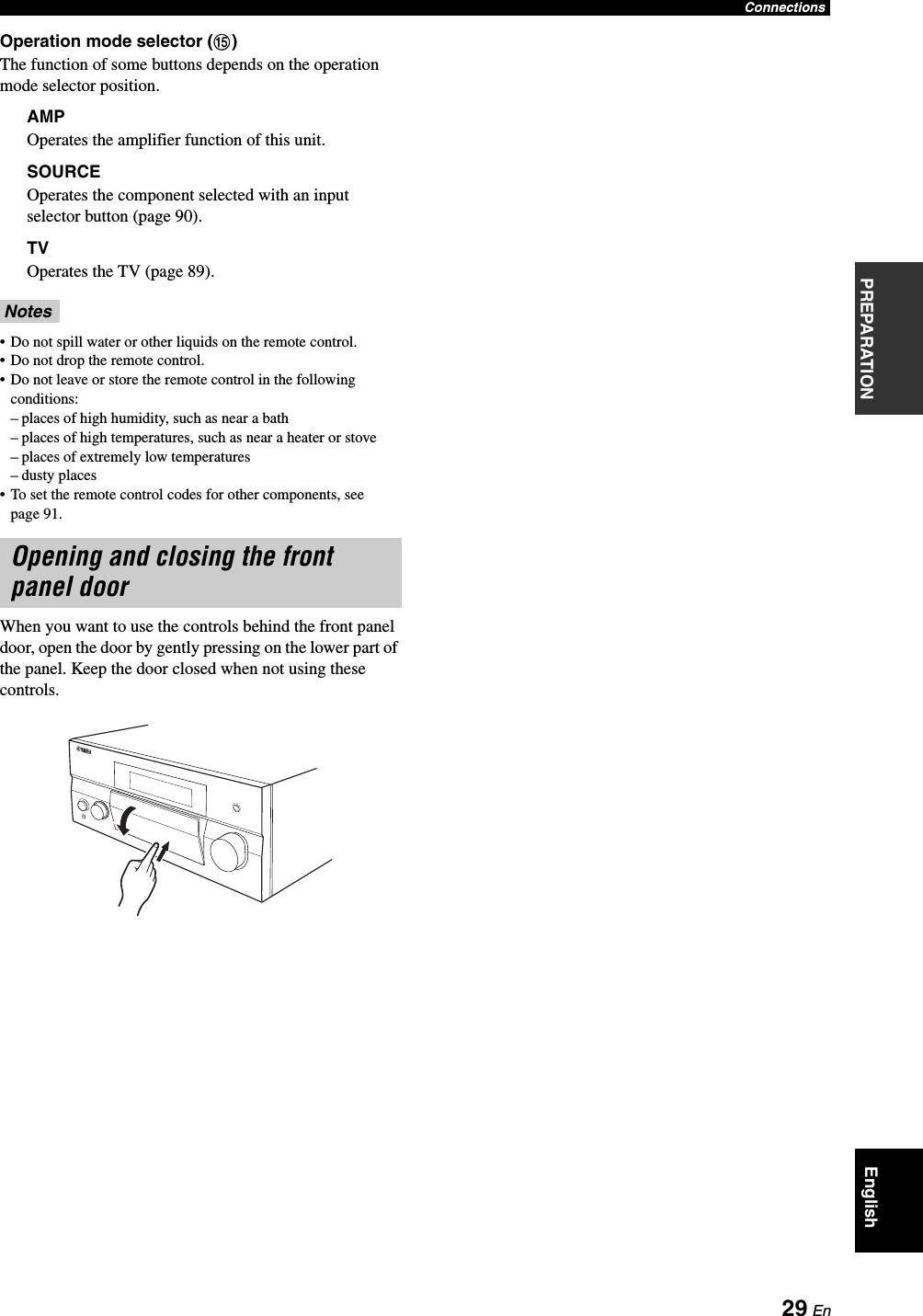 Yamaha RX V1900 Owner's Manual U