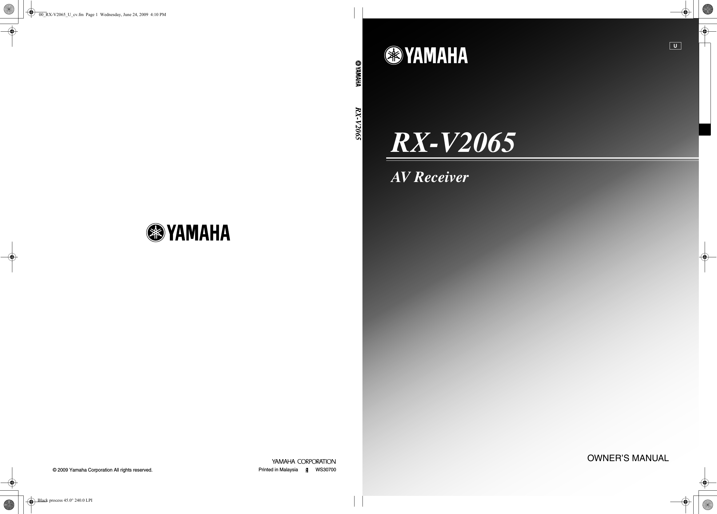 Yamaha Rx V2065 Owners Manual U Cd 4013 Toggle Switch Design Trick 1 Electronics Hobby