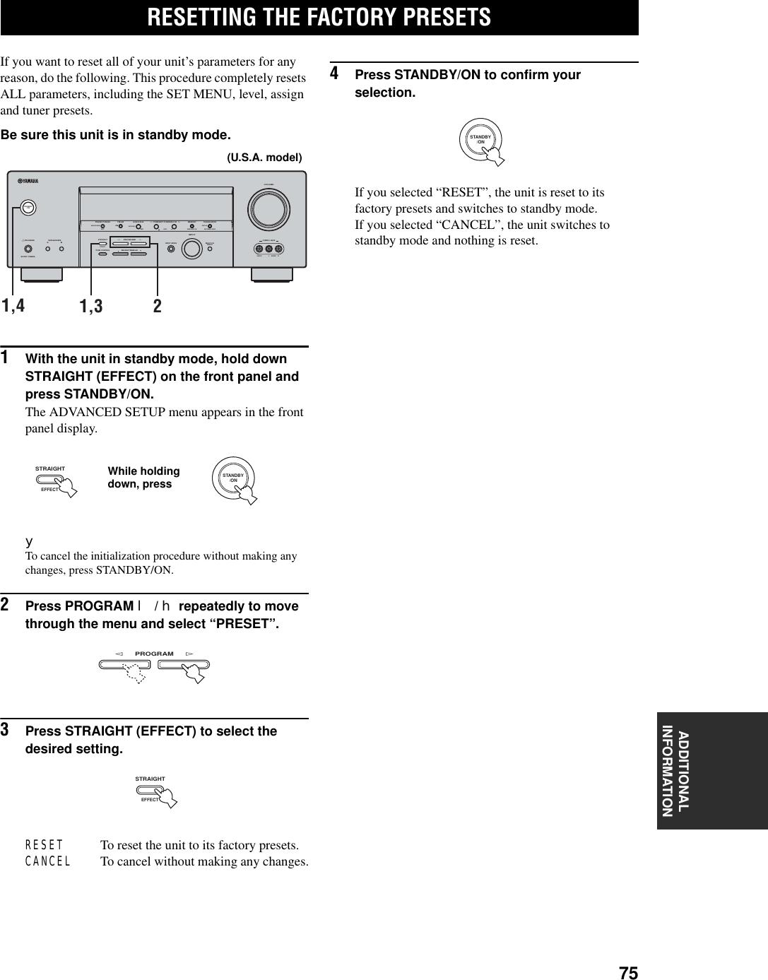 Yamaha Rx V457 Owners Manual