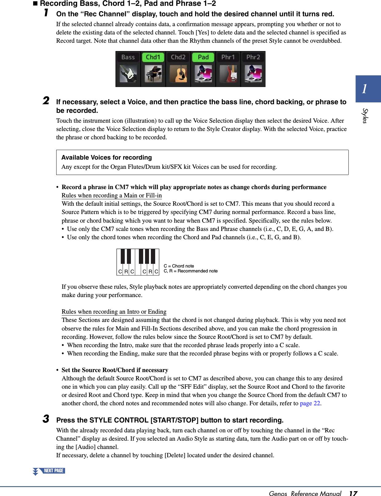 Yamaha Genos Reference Manual En Rm B0