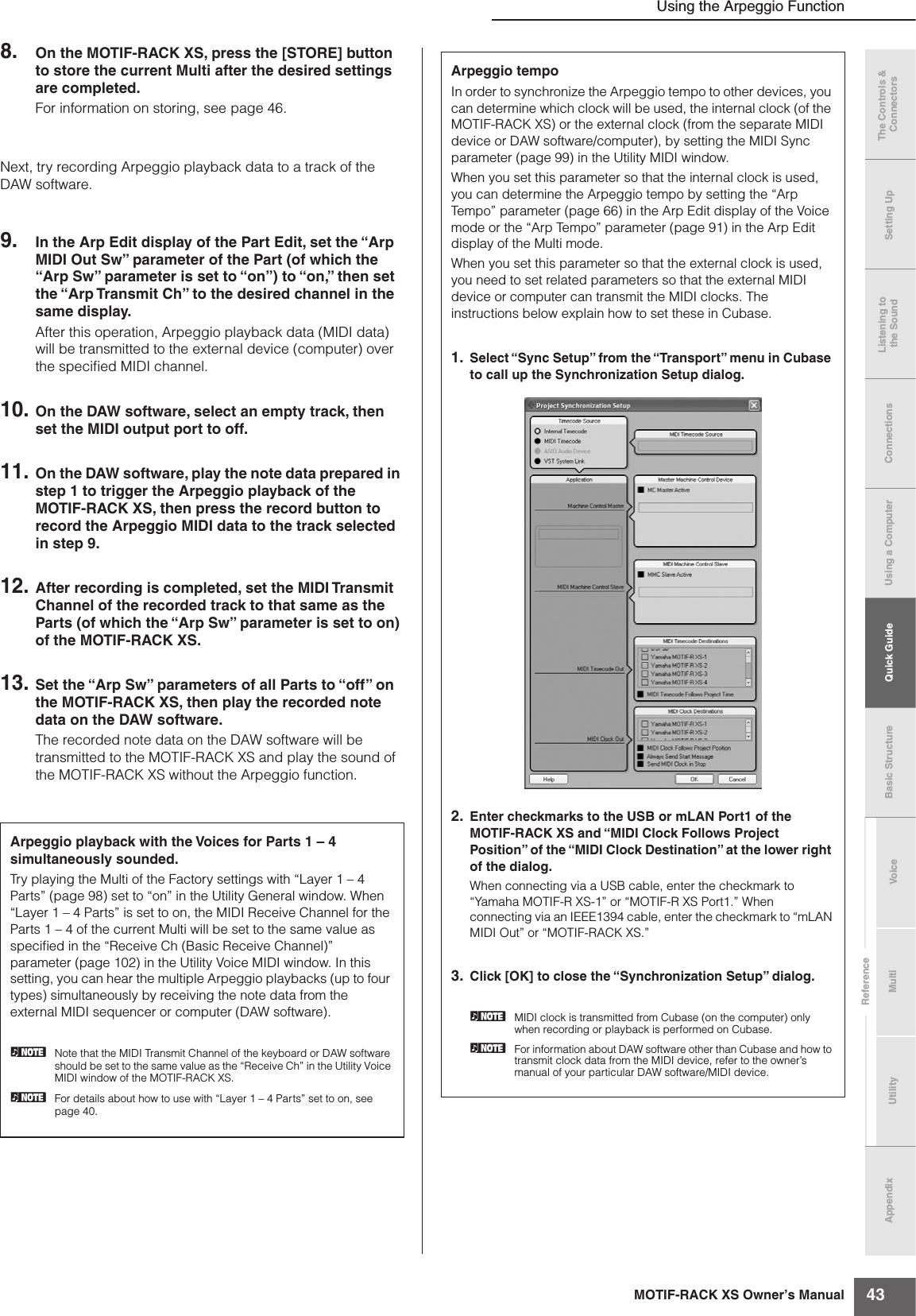 Yamaha MOTIF RACK XS Owner's Manual Motifrackxs En Om C0