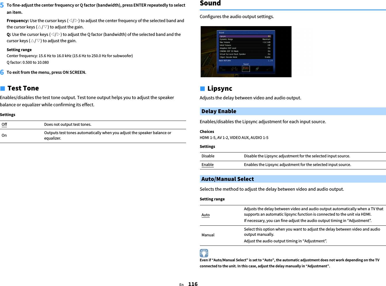 Yamaha RX A770 Owner's Manual Web YJ203A0 EN1 Om UCRAF En A0