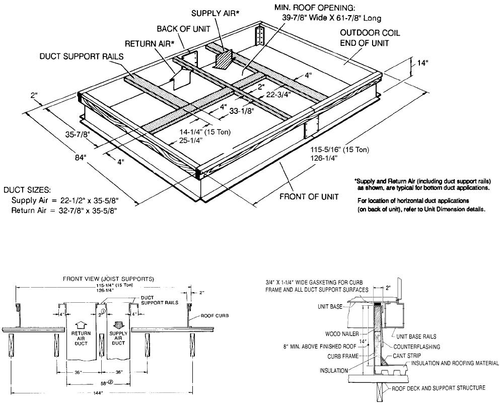 York Dh 180 Users Manual Y Tg Single Package Gas Elec Units And Sgl Rtu Wiring Diagrams 262260 Ytg E 1008