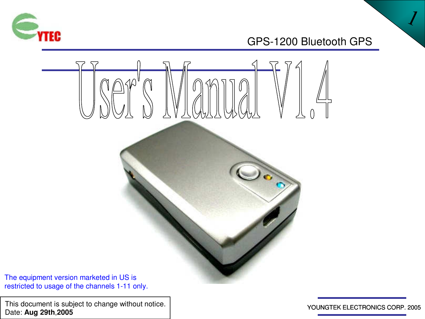 youngtek electronics gps 1200 bluetooth gps receiver user manual rh usermanual wiki TomTom GPS Manual TomTom GPS Manual
