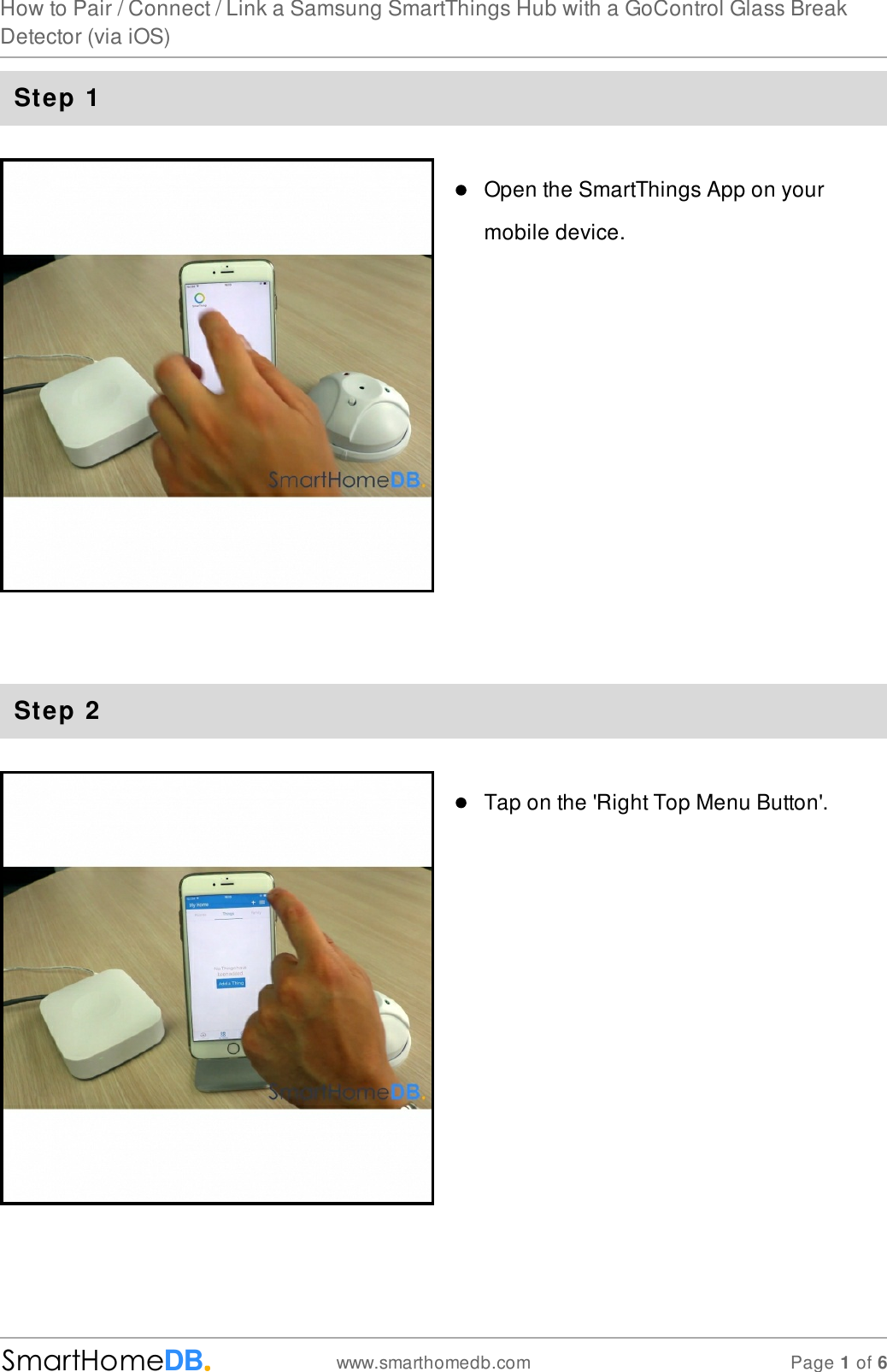 Z Wave Smarthomedb Com How To Pair Connect Link A Samsung