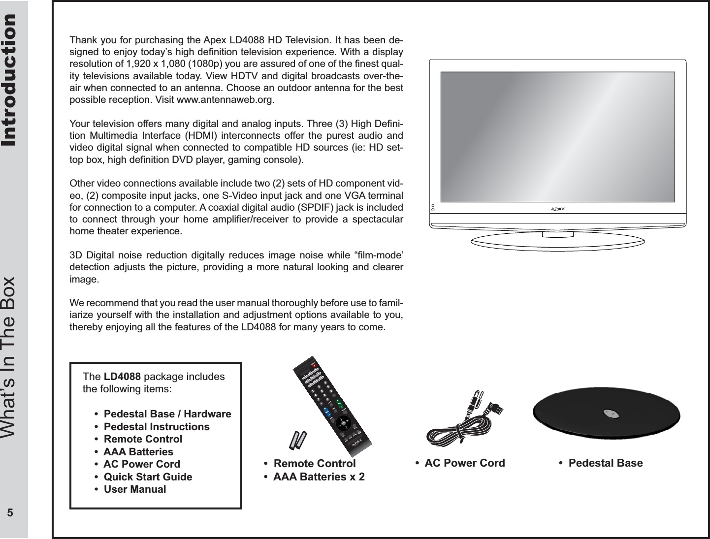 zhejiang xingxing electronic technology and development ld4088 lcd rh usermanual wiki Apex Digital TV Codes Apex Digital TV Cieling Mounts