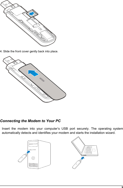Page 5 of ZTE MF833V LTE/WCDMA/GSM(EDGE,GPRS) USB modem User Manual