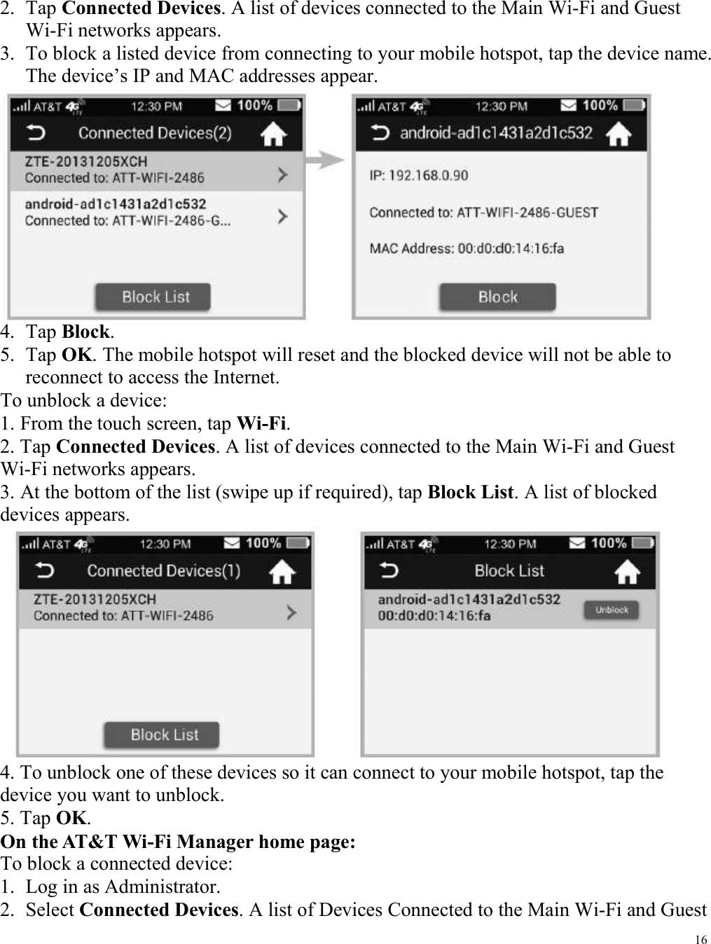 ZTE MF985 LTE uFi User Manual