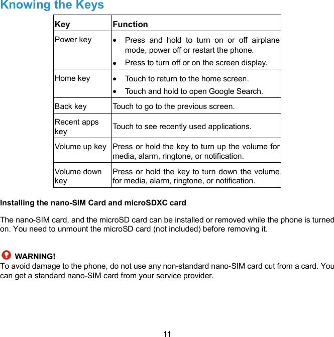 ZTE Z982 WCDMA/ LTE Multi-Mode Digital Mobile Phone User Manual