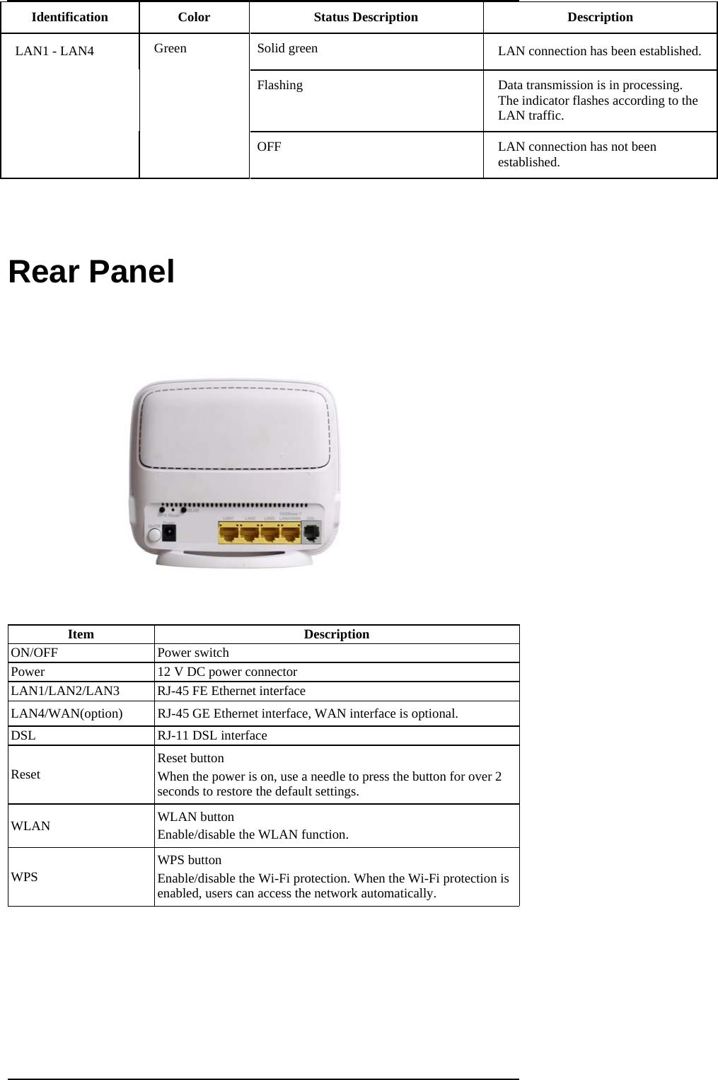 ZTE ZXHNH267N Home Gateway User Manual ZXHN H168N V3 3 FCC