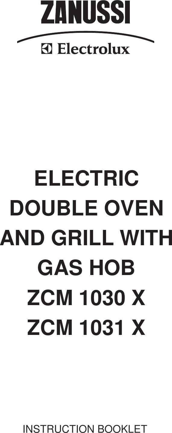 Wiring Diagram Zanussi Oven