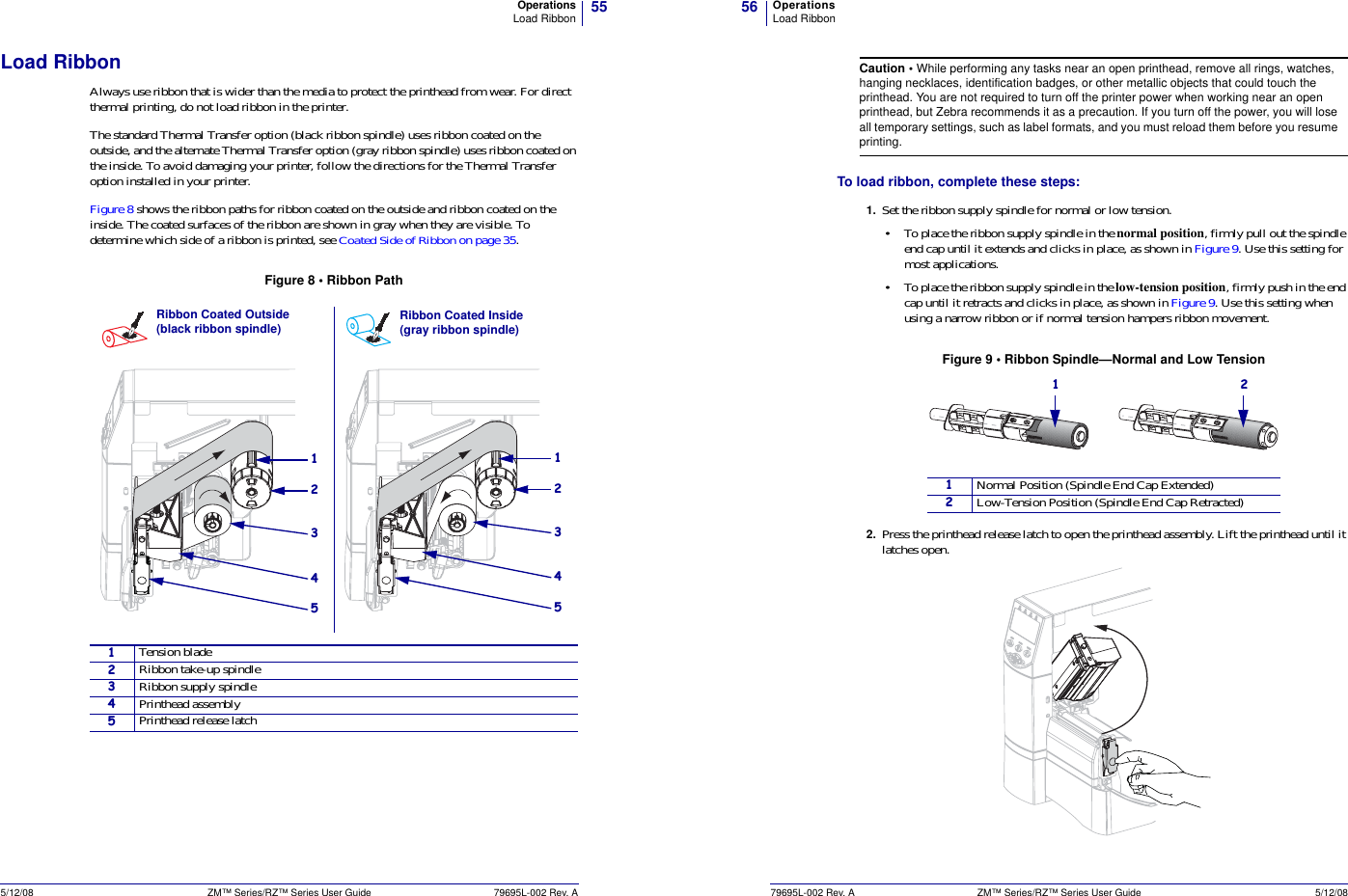 Zebra Technologies URFIDM5E UHF RFID Radio Module User Manual ZM4000