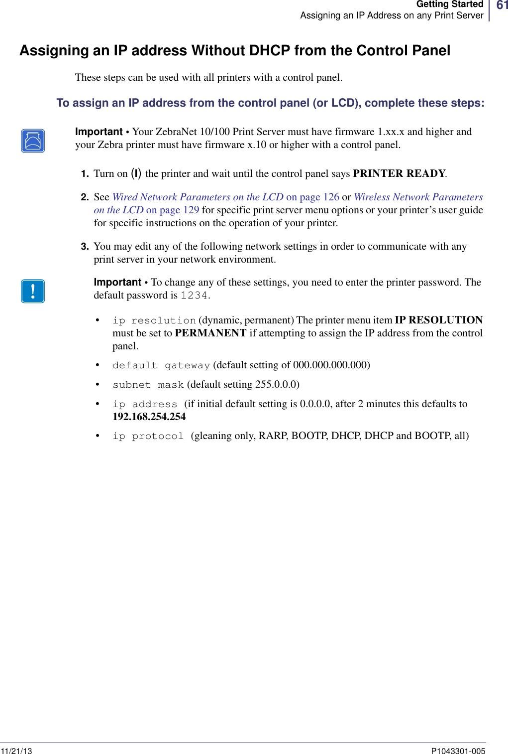 Zebra Zebranet Wired And Wireless Print Server P1043301 005