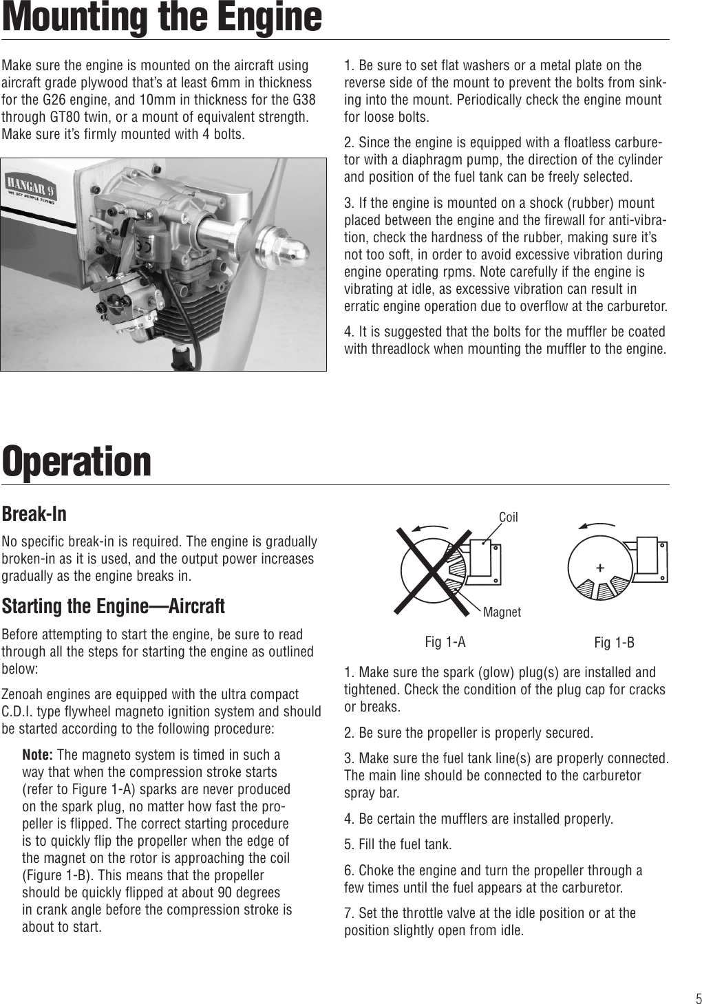 Zenoah G26 Air Users Manual 6135_Zenoah Engine