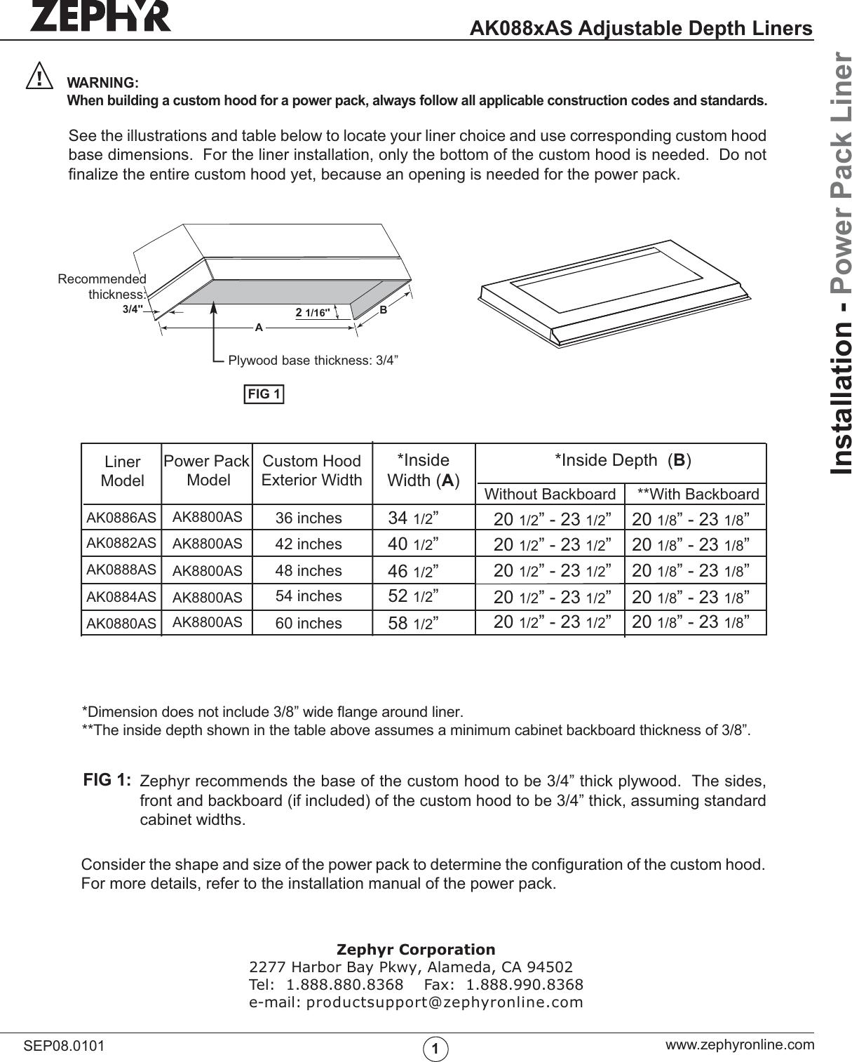 zephyr ak088xas users manual ak08xxas liner 2 rh usermanual wiki zephyr owners manual zephyr owners manual