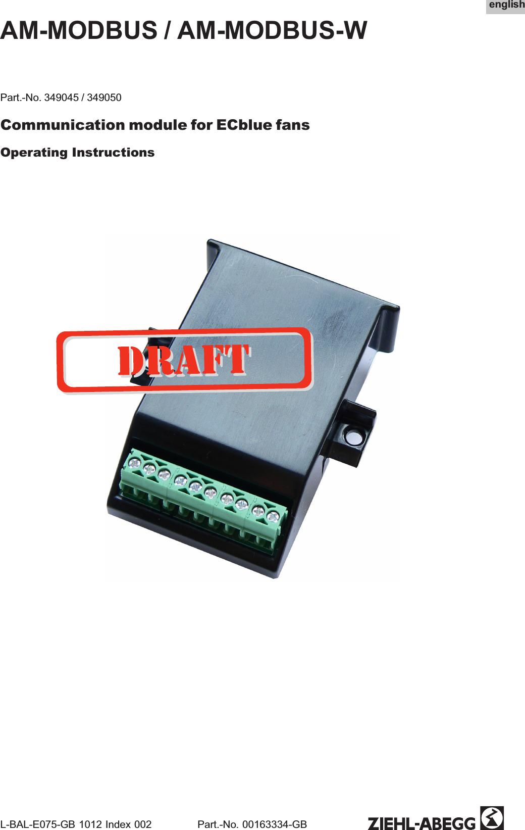 [ZHKZ_3066]  Ziehl Abegg SE AMMODBUSW RF Module AM-MODBUS(-W) User Manual | Ziehl Abegg Motor Wiring Diagram |  | UserManual.wiki