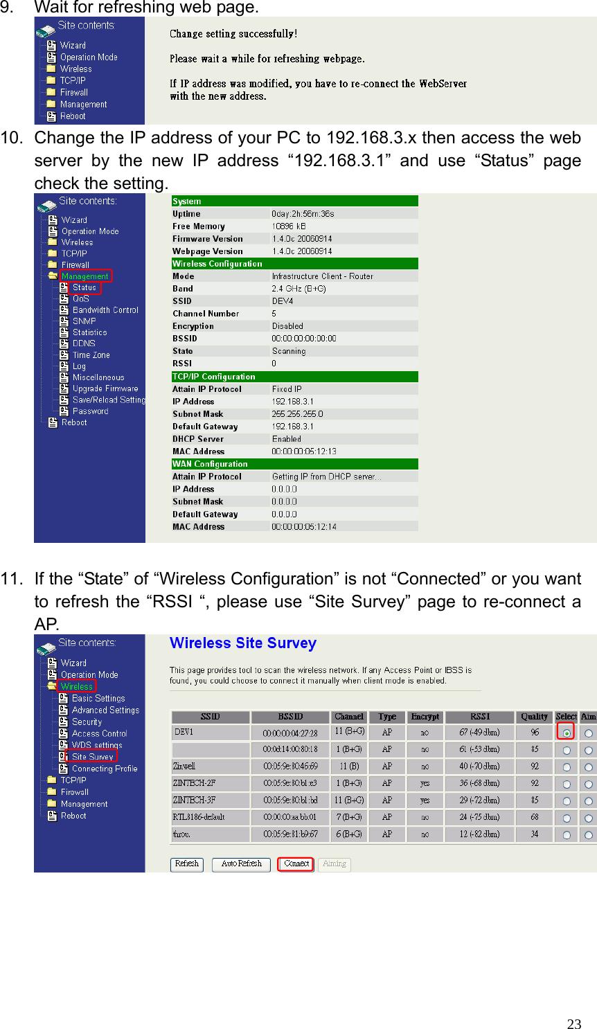 firmware ap router zinwell g220