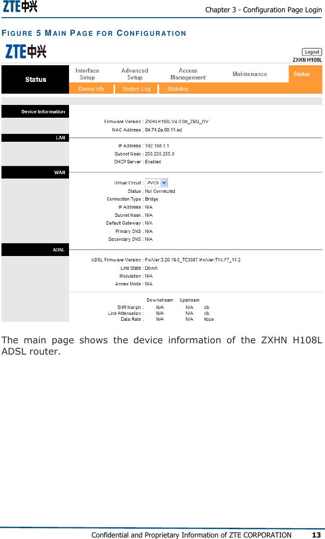 Zte Zxhn H108L Maintenance Manual (17 05 05)