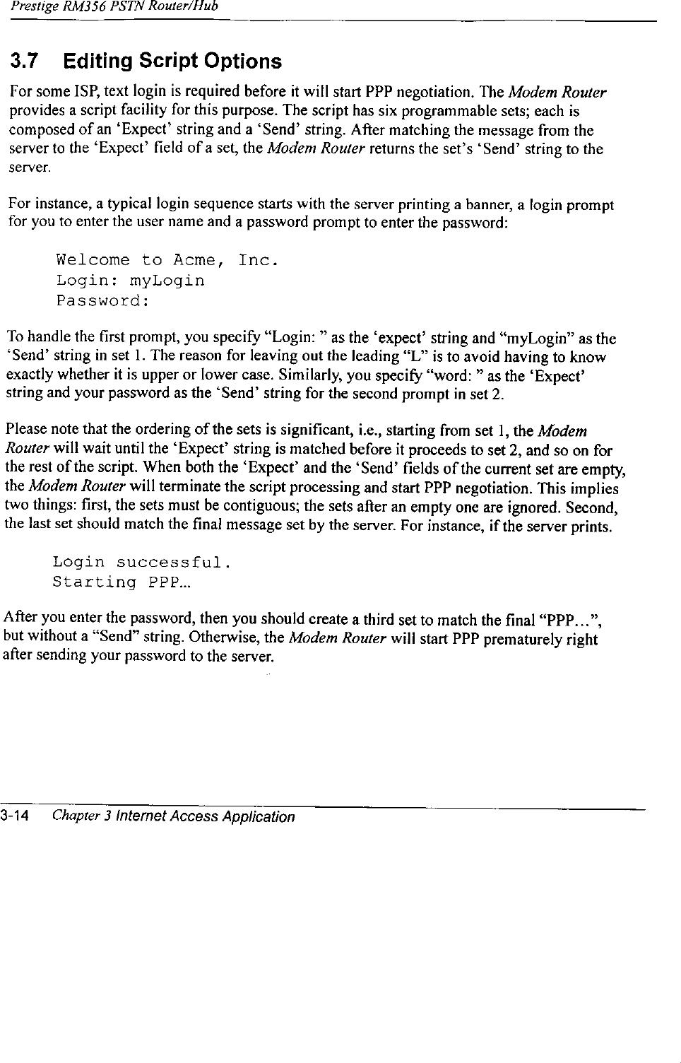 ZyXEL Communications NETGEARRM356 User Manual 74770