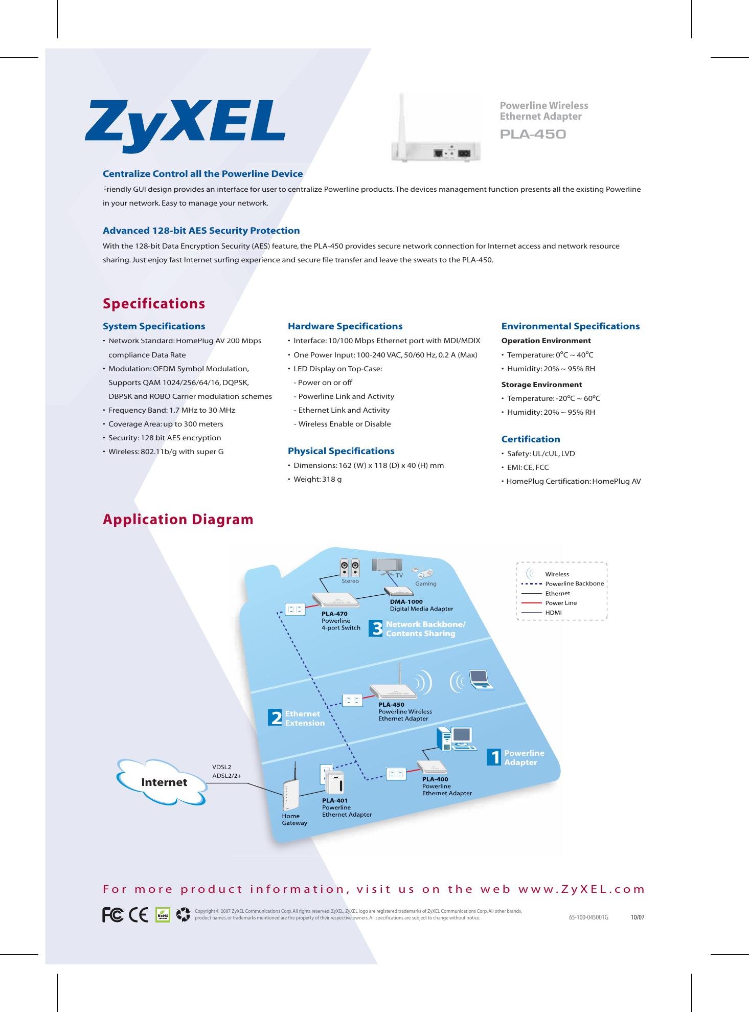 zyxel pla 450 users manual rh usermanual wiki