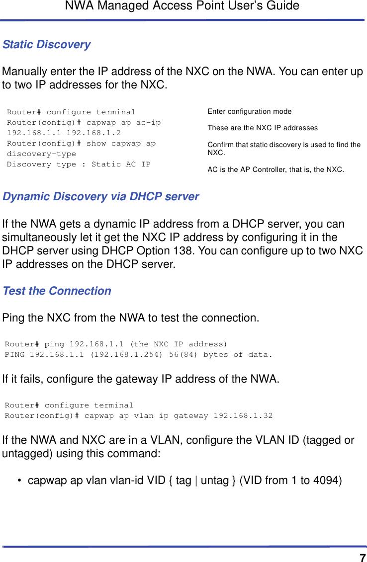 Zyxel Communications Network Card Nwa5160N Users Manual