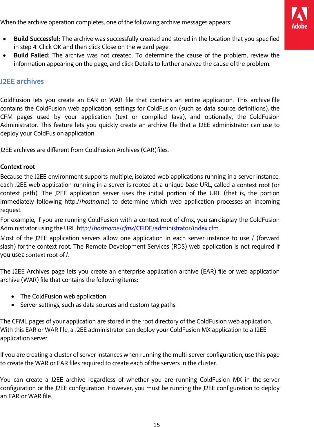 Adobe Cold Fusion 2016 Migration Guide Coldfusion2016 En