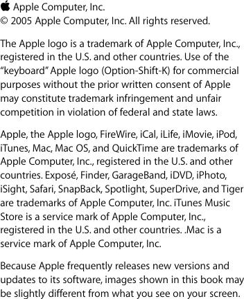 Apple Welcome To Mac OS V10 4 Tiger X 10 4 OSX10 4 En