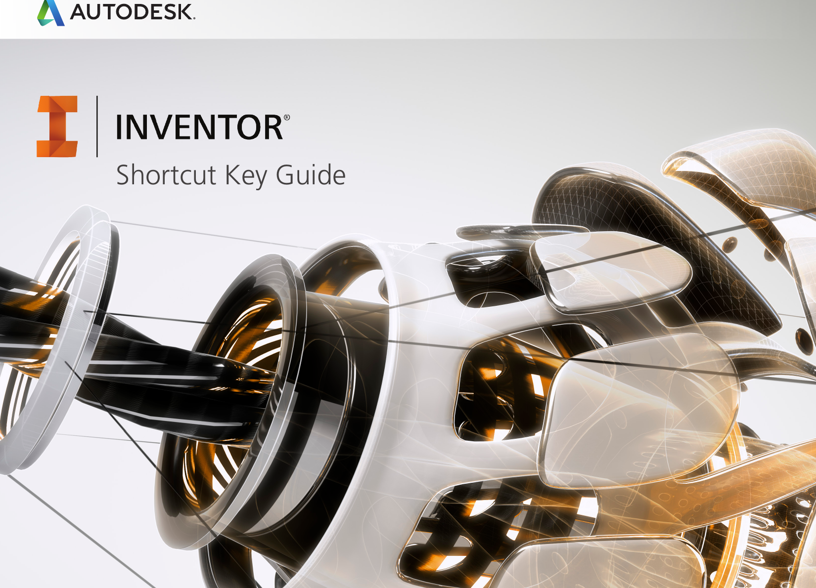 AUTODESK Inventor New Keyboard Labels Shortcuts