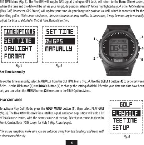 Bushnell Neo Ion Quick Start Guide i ON QSG EN