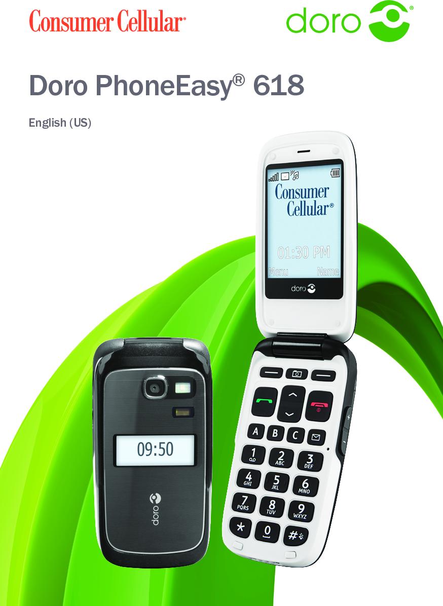 Doro Phone Easy 618 Operation Manual EN