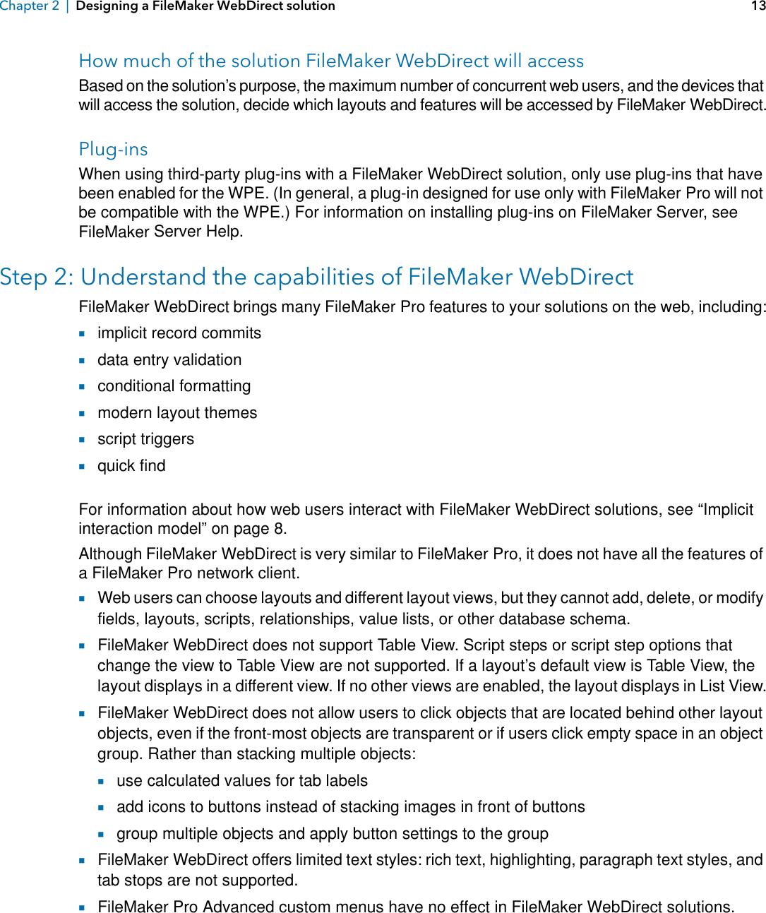 Filemaker WebDirect Guide File Maker Pro 14 Web Direct Fm14 En