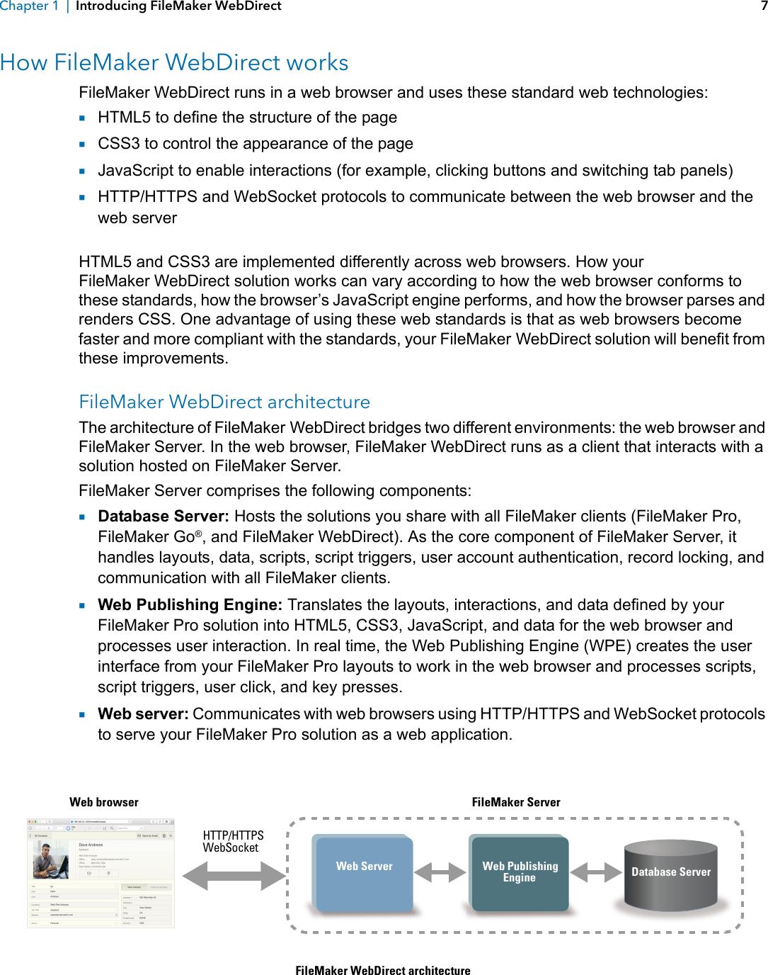 Filemaker 15 WebDirect Guide File Maker Pro Web Direct Fm15