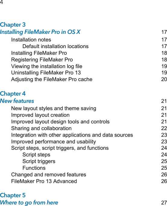 Filemaker Installation And New Features Guide For Pro
