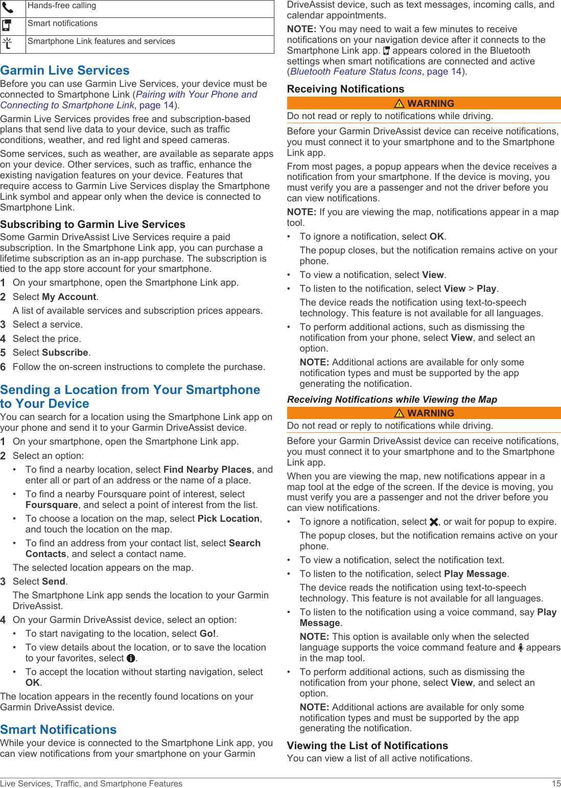 Garmin Drive Assist 51 Owner's Manual OM EN