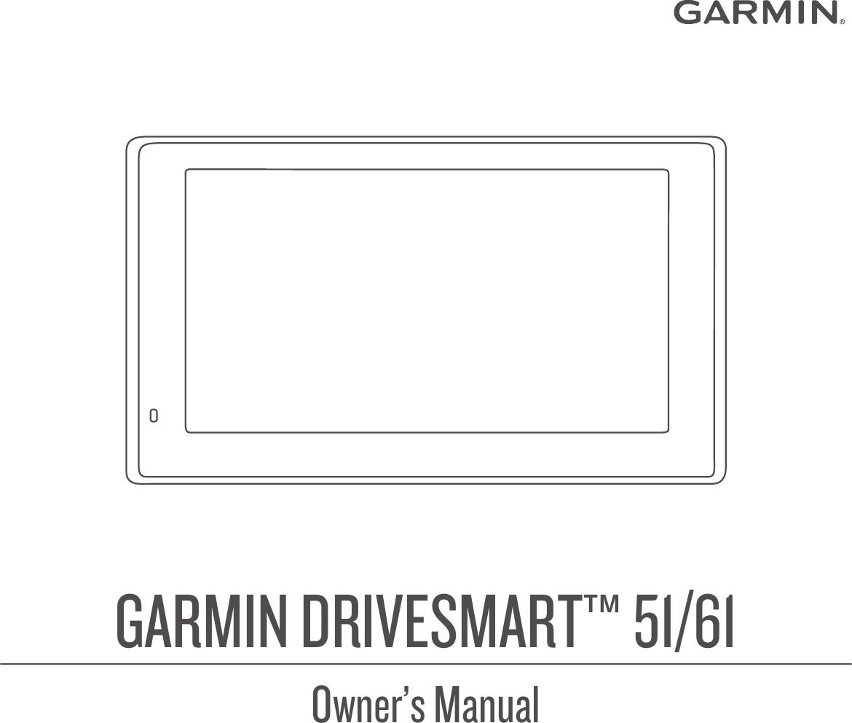 Garmin Drive Smart 61 Owner's Manual 51 OM EN