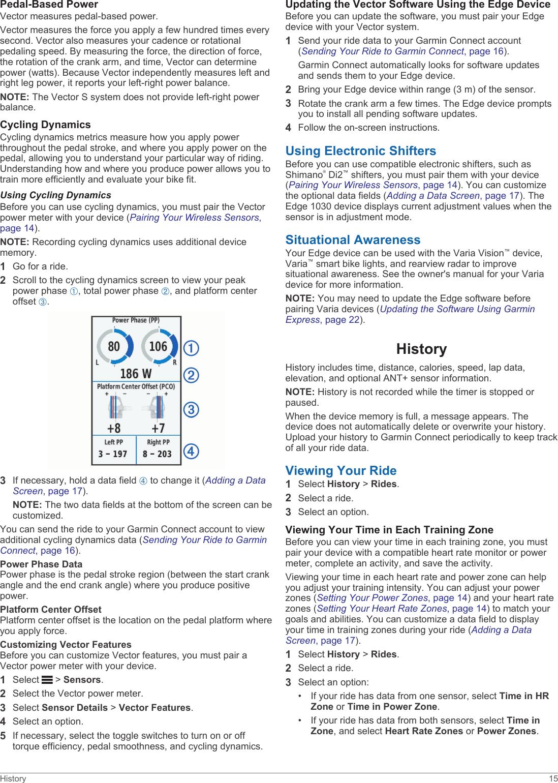 Garmin Edge 1030 Operating Instructions OM EN