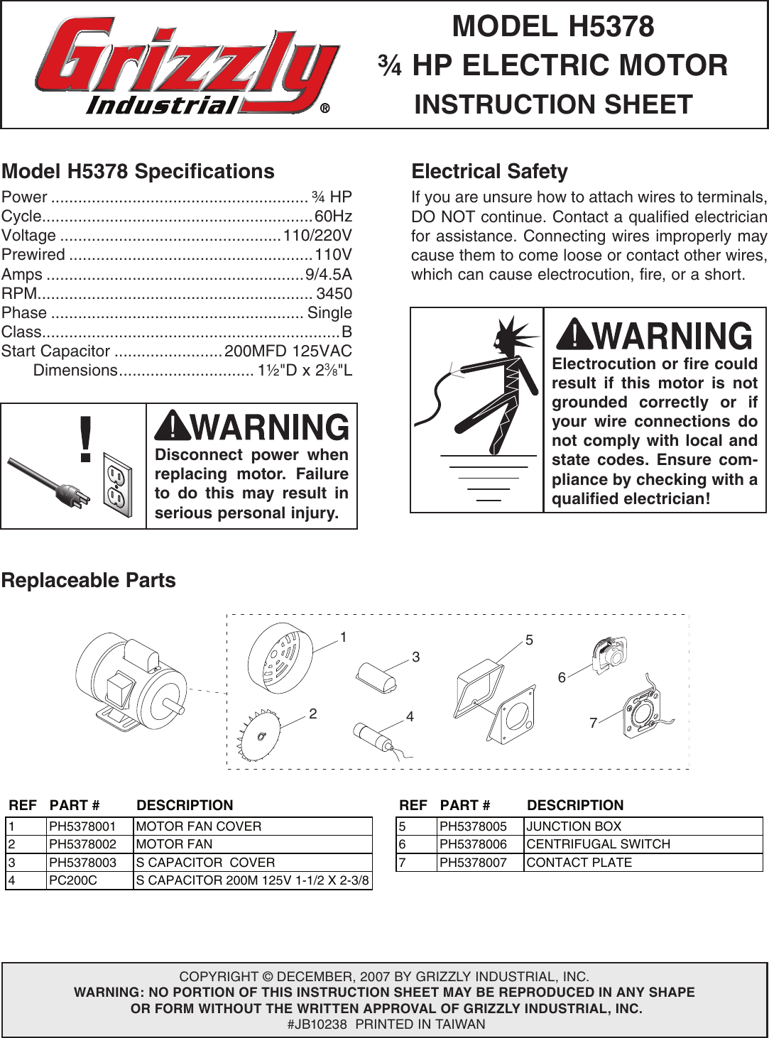 Grizzly H5378 Wiring Diagram User Manual 66c57519 9011 4722 8b64 Industrial Switch Bd7f73132b60