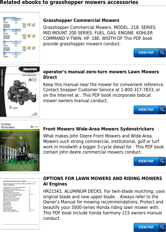 honda mower engines manuals ebook