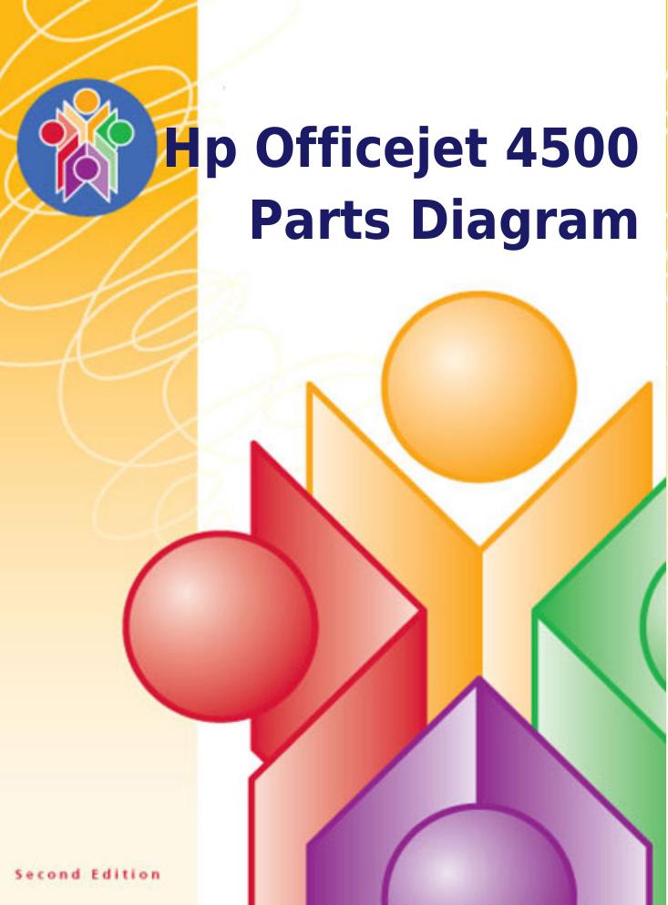 hp officejet 4500 wireless manual
