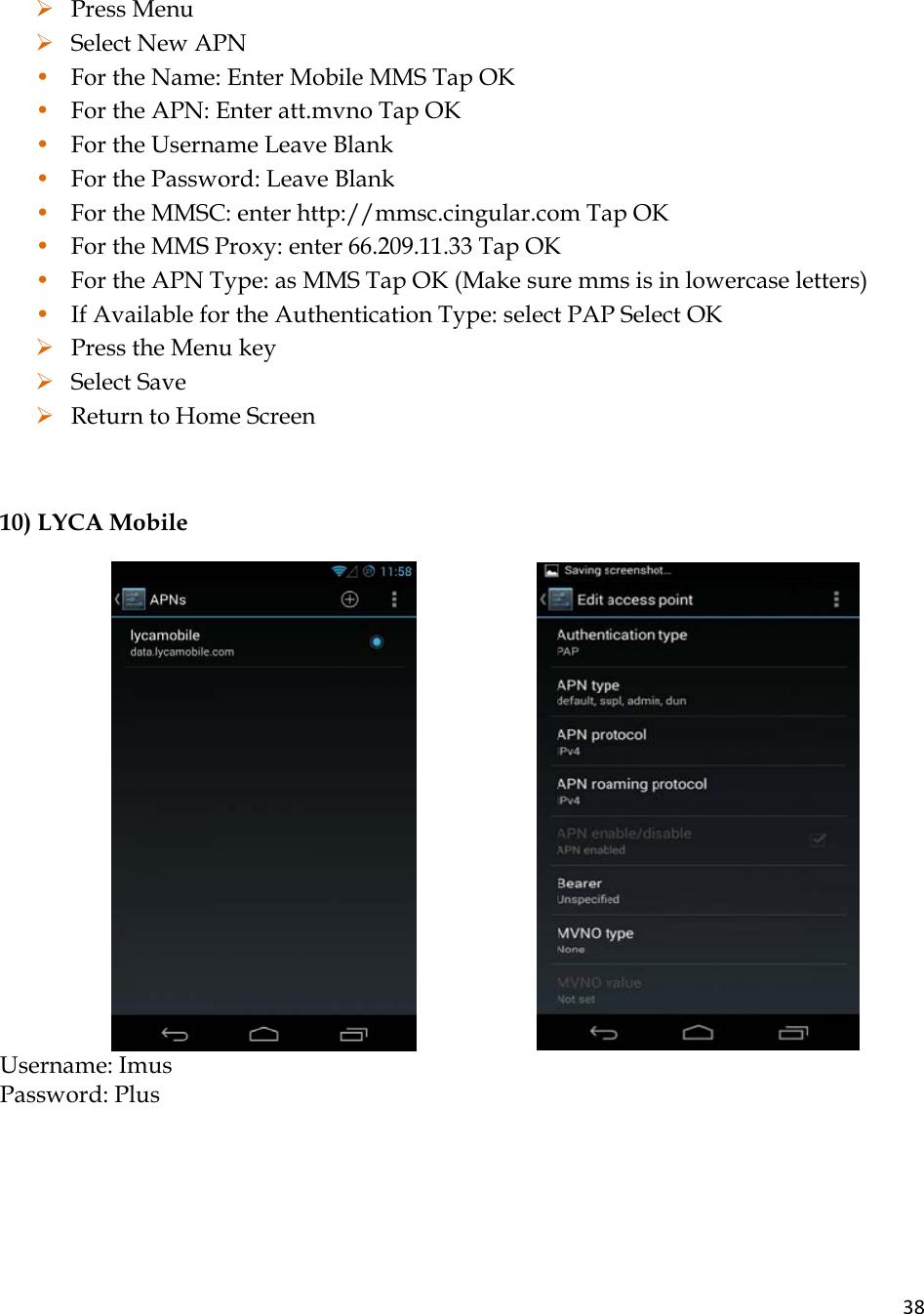iDROID A5 Mobile phone User Manual User Manual