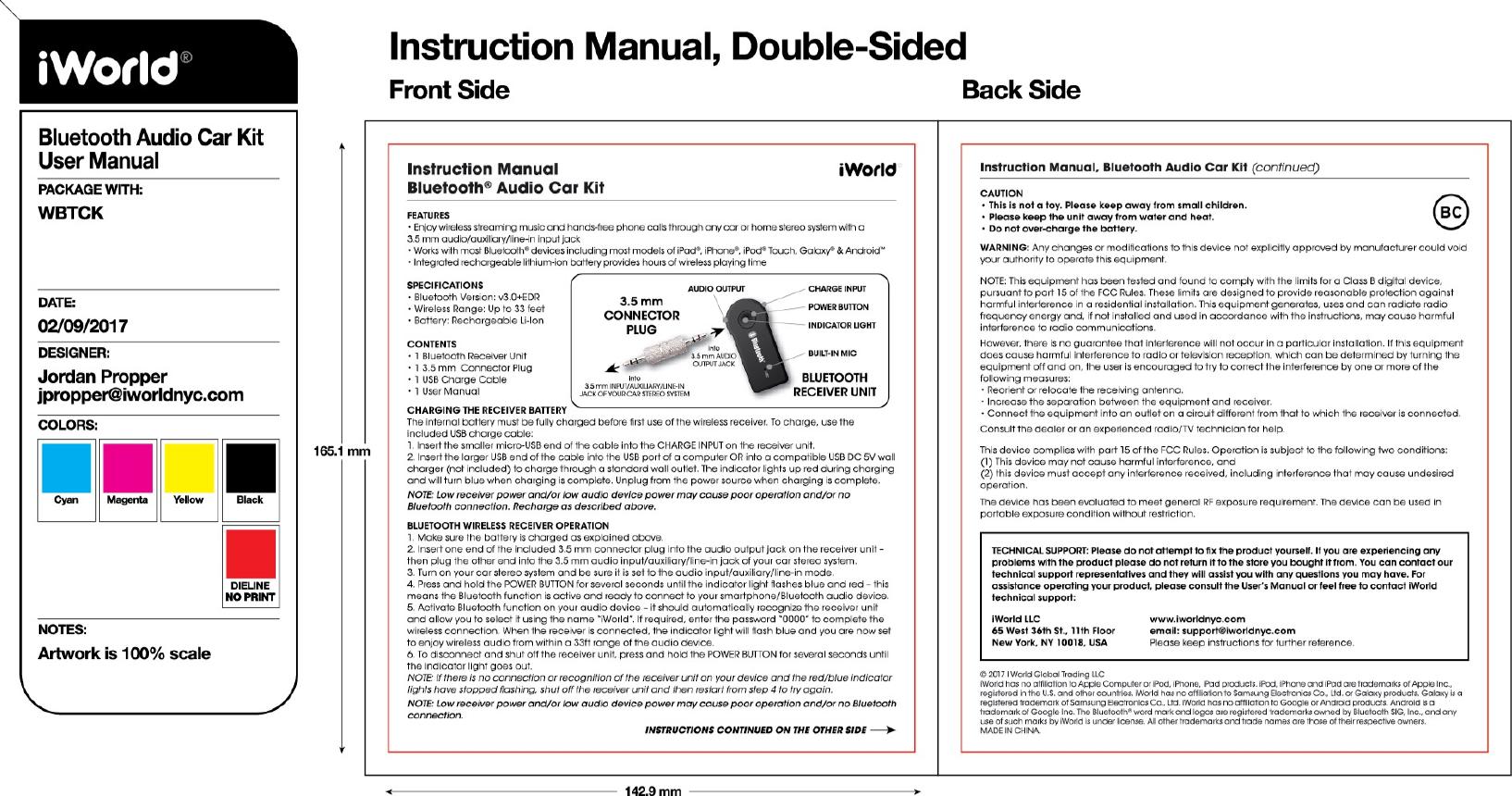 iworld iwhamui bluetooth audio car kit user manual full page photo rh usermanual wiki sony car audio user manual sony car audio user manual