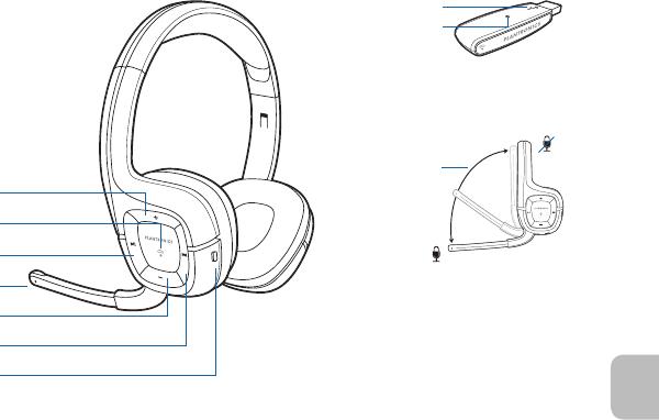 Plantronics 995H .Audio 995H User Manual