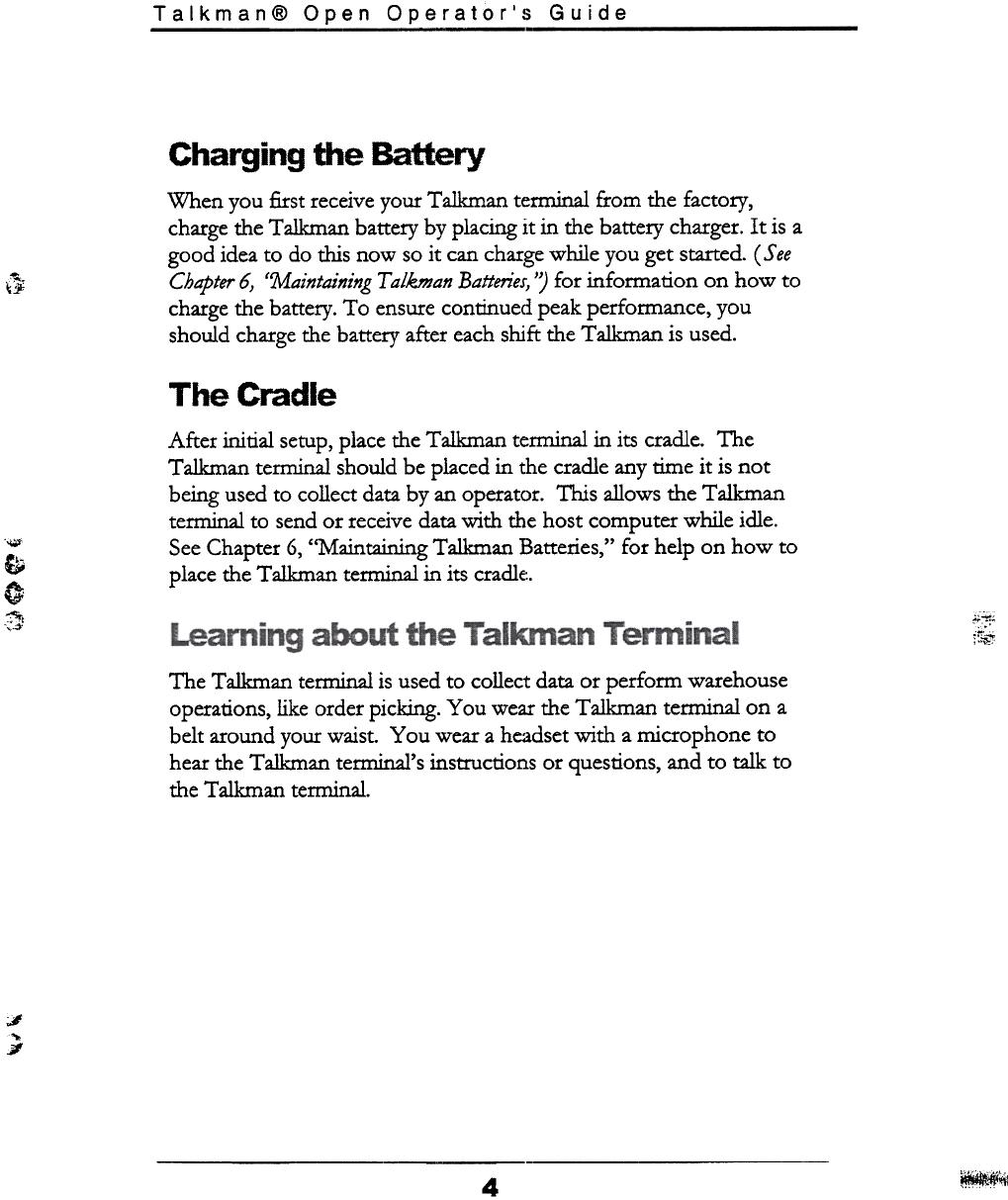 Vocollect Tt500 33300 Talkman Open Apollo Terminal User Manual Part 3 And the author is thetalkman. usermanual wiki