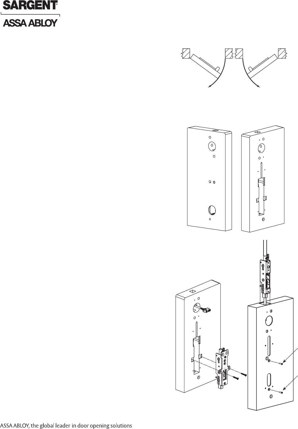 Assaloy Scyprox2 Harmony H2 Series Lock User Manual Fcc Part 15 Wiring Diagrams By Sargent Locks Copyright 2009 Manufacturing Company An Assa Abloy Group All Rights Reserved