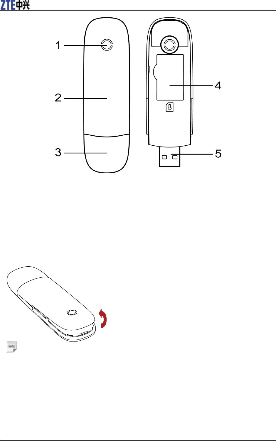 ZTE ZTEMF190 HSUPA USB Stick User Manual MF190