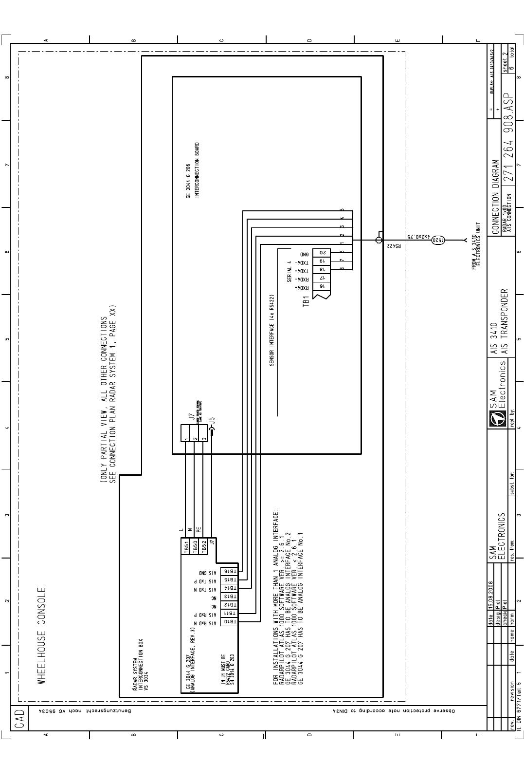 Sam Electronics Ais3410 Maritime Ais Transponder User Manual T Ue E Gps Wiring Diagram 3410 Unit